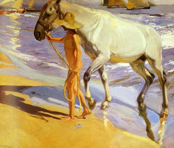 sorolla_joaquin_el_bano_del_caballo