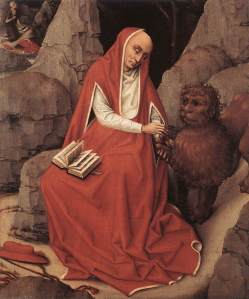 weyden_st_jerome_and_the_lion_c1450
