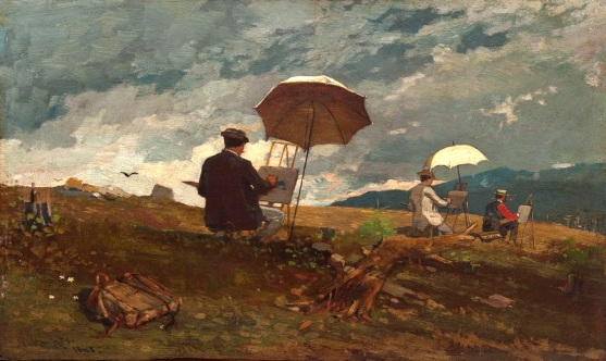 winslow-homer-artists-sketching-in-the-white-mountains