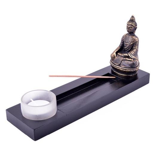 Feng-Shui-ZEN-Garden-Buddha-Tealight-Incense-Stick-L1040-